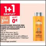 Bon Plan Shampooing Men Schwarzkopf chez Leader Price (16/09 - 28/09) - anti-crise.fr