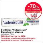 Bon Plan Dentifrice Vademecum chez Monoprix (10/10 - 22/10) - anti-crise.fr
