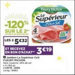 Bon Plan Jambon Le Supérieur Fleury Michon chez Casino - anti-crise.fr