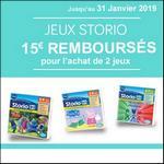 Offre de Remboursement Vtech : 15€ Remboursés sur 2 Jeux Storio - anti-crise.fr