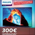 Offre de Remboursement Philips : 300€ Remboursés sur TV OLED - anti-crise.fr