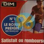 Offre de Remboursement Dim : Pack de Boxers Coton Stretch Satisfait ou 100% Remboursé - anti-crise.fr