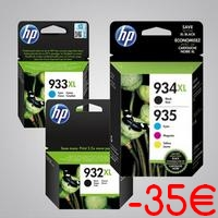 Offre de Remboursement hp : Jusqu'à 35€ Remboursés sur Cartouches d'Encre