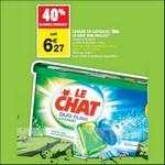 Bon Plan Lessive en Capsules Le Chat chez Carrefour Market - anti-crise.fr