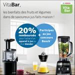 Offre de Remboursement Bosch : 20% Remboursés sur Appareil à Jus ou Blender - anti-crise.fr