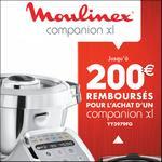 Offre de Remboursement Moulinex : Jusqu'à 200€ Remboursés sur Companion XL - anti-crise.fr