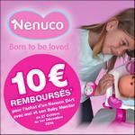Offre de Remboursement Famosa : 10€ Remboursés sur Nenuco - Dort Avec Moi et son Baby Monitor - anti-crise.fr