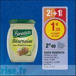 Bon Plan Sauce Benedicta chez Magasins U - anti-crise.fr