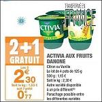 Bon Plan Yaourts Activia de Danone chez Carrefour Market (30/10 - 11/11) -anti-crise.fr