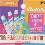 Offre de Remboursement Batiste : Shampoing Sec 50% Remboursé chez Leclerc - anti-crise.fr