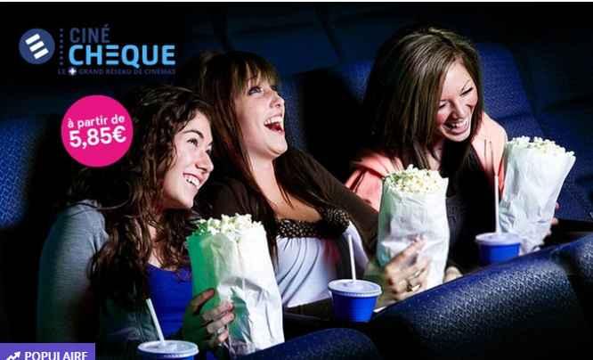 Place de cinéma Cinécheque  à 5.85€