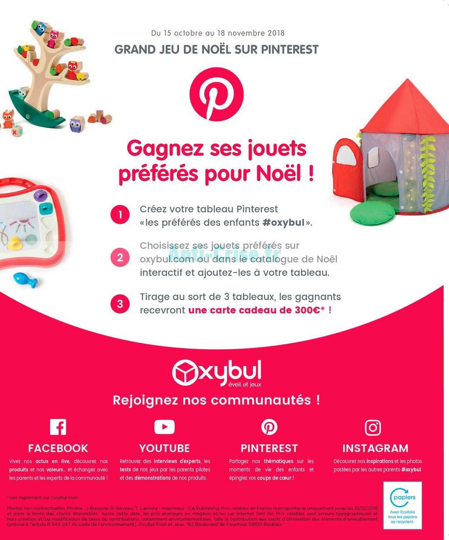 catalogue noel 2018 oxybul Catalogue Oxybul du 01 octobre au 31 décembre 2018 (Noel) catalogue noel 2018 oxybul