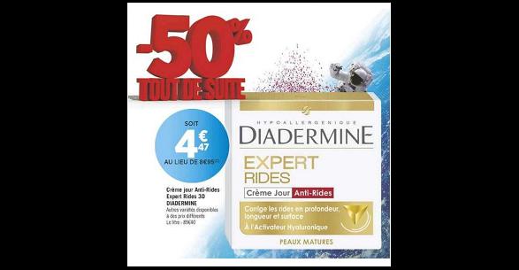 Bon Plan Crème Diadermine Expert chez Géant Casino (16/10 - 26/10) - anti-crise.fr