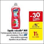Bon Plan Liquide Vaisselle Mir chez Carrefour (23/10 - 29/10) -anti-crise.fr