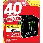 Bon Plan Boisson Monster chez Cora (16/10 - 22/10) - anti-crise.fr