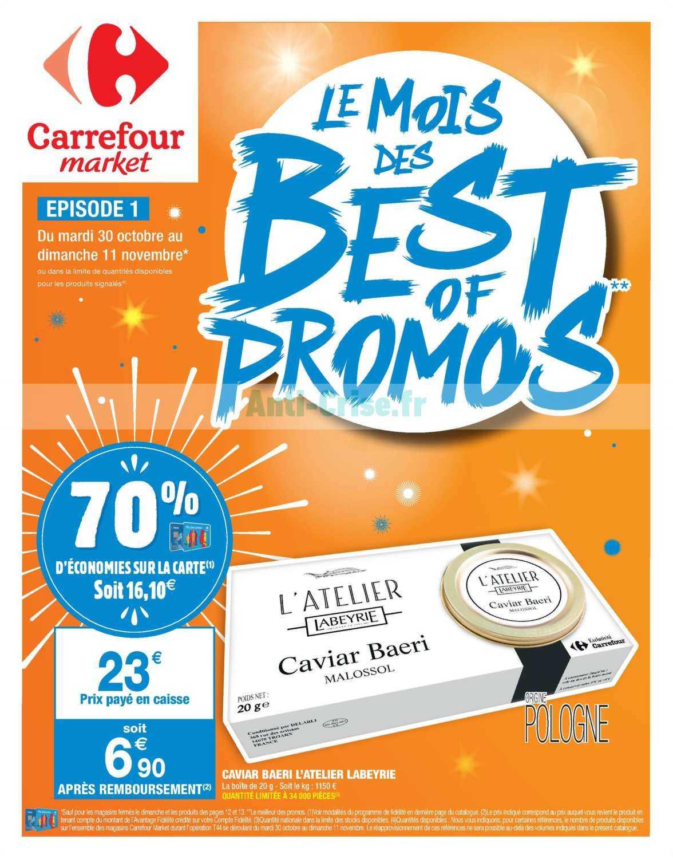 Catalogue Carrefour Market du 30 octobre au 11 novembre 2018 (Le Mois 1)