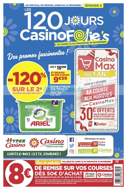 Catalogue Casino du 13 au 25 novembre 2018