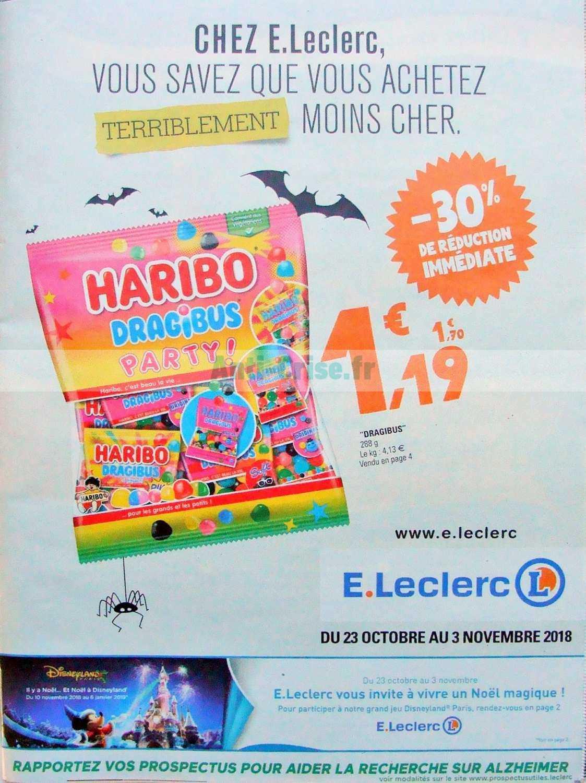 Catalogue Leclerc du 23 octobre au 03 novembre 2018