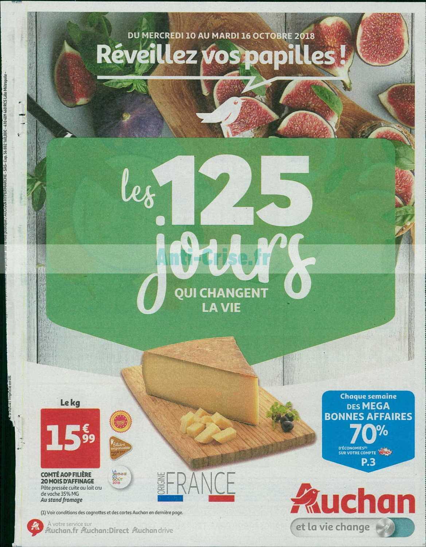 Catalogue Auchan du 10 au 16 octobre 2018 (125 Jours 2)