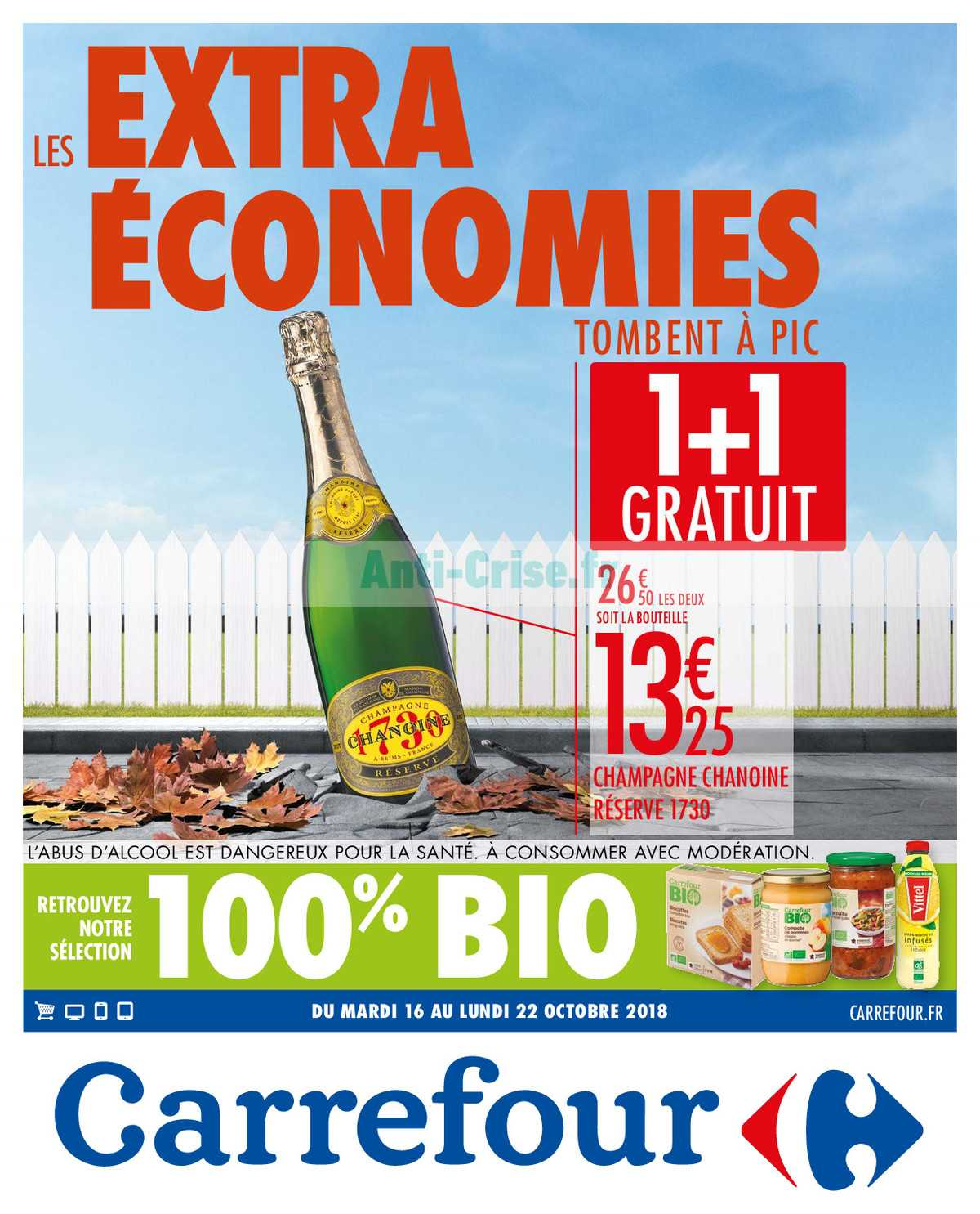 Catalogue Carrefour du 16 au 22 octobre 2018