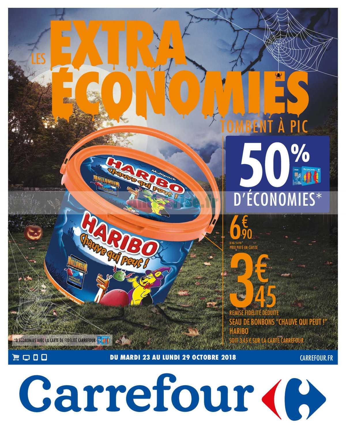 Catalogue Carrefour du 23 au 29 octobre 2018 (Economies)