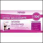 Offre de Remboursement Saforelle : 10€ Remboursés sur une Culotte Absorbante - anti-crise.fr