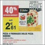 Bon Plan Dolce Pizza Sodebo chez Carrefour Market (16/10 - 28/10) - anti-crise.fr