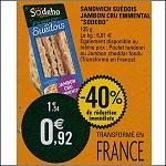 Bon Plan Sandwich Suédois Sodebo chez Leclerc (16/10 - 20/10) - anti-crise.fr
