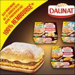 Offre de Remboursement Daunat : Burger 100% Remboursé en 1 Bon - anti-crise.fr