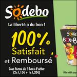 Offre de Remboursement Sodebo : Box & Balls 100% Remboursé en 3 Bons - anti-crise.fr