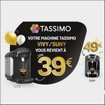 Offre de Remboursement Bosch sur votre Machine Tassimo Vivy2, Suny, Joy ou Caddy - anti-crise.fr