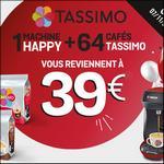 Offre de Remboursement Bosch : Machine Tassimo Happy + 4 Paquets pour 39€ - anti-crise.fr