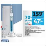 Bon Plan Brosse à Dents Electrique Connectée Oral-B chez Auchan - anti-crise.fr