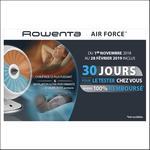 Offre d'Essai Rowenta : Chauffage Ventilateur Air Force Satisfait ou 100% Remboursé - anti-crise.fr