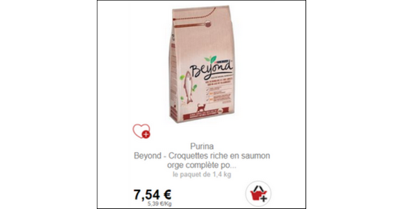 Bon Plan Croquettes pour Chat Beyond Partout - anti-crise.fr