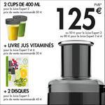 Bon Plan Magimix : Jusqu'à 125€ de Cadeaux pour l'achat d'un Juice Expert - anti-crise.fr