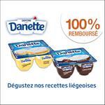 Offre de Remboursement FlashPromo : Danette Le Liégeois 100% Remboursé - anti-crise.fr