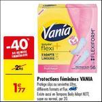 Bon Plan Protège-Slip ou Serviettes Vania chez Carrefour - anti-crise.fr