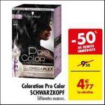 Bon Plan Coloration Pro Color de Schwarzkopf chez Carrefour - anti-crise.fr
