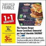 Bon Plan American Burger Daunat chez Carrefour - anti-crise.fr