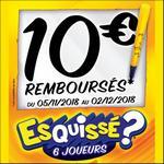 Offre de Remboursement Goliath : 10€ Remboursés sur le Jeu Esquissé - anti-crise.fr