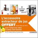 Bon Plan Kenwood : Extracteur de Jus Offert - anti-crise.fr