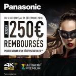 Offre de Remboursement Panasonic : Jusqu'à 250€ Remboursés sur Téléviseur OLED - anti-crise.fr