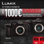 Offre de Remboursement Panasonic : Jusqu'à 1 000€ Remboursés sur Appareil Photo Lumix + Optique - anti-crise.fr