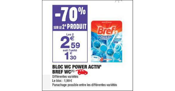 Bon Plan Bloc Bref WC chez Carrefour Market (13 11 - 25 11 ... d792f8824380