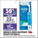 Bon Plan Brosse à Dents Electrique Vitality Oral-B chez Carrefour Market - anti-crise.fr