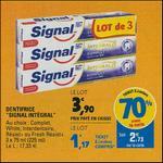 Bon Plan Dentifrice Signal Integral 8 chez Leclerc - anti-crise.fr