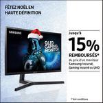 Offre de Remboursement Samsung : Jusqu'à 15% Remboursés sur Moniteur Incurvé ou UHD - anti-crise.fr