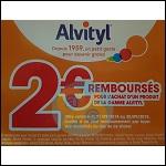 Offre de Remboursement Alvityl : 2€ Remboursés sur un Produit de la Gamme - anti-crise.fr