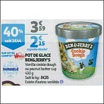 Bon Plan Crème Glacée Ben & Jerry's chez Auchan (21/11 - 27/11) - anti-crise.fr